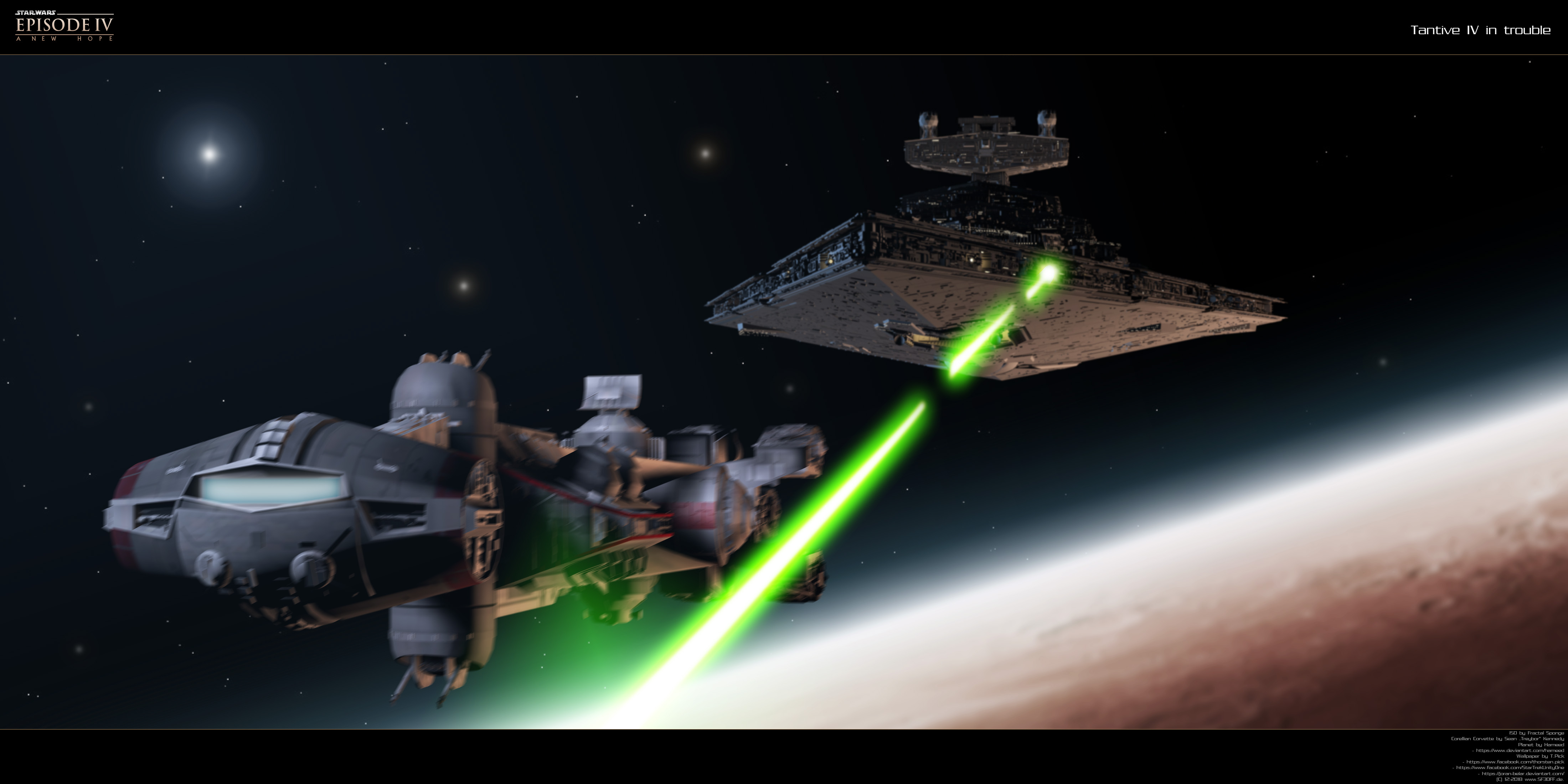 Tantive Iv In Trouble By Joran Belar On Deviantart