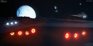 Arrival at Hoth by Joran-Belar
