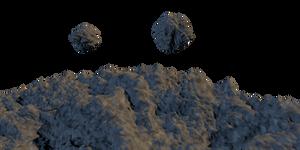 Asteroids Pack 03 - Stock by Joran-Belar