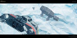 Battle of Hoth by Joran-Belar