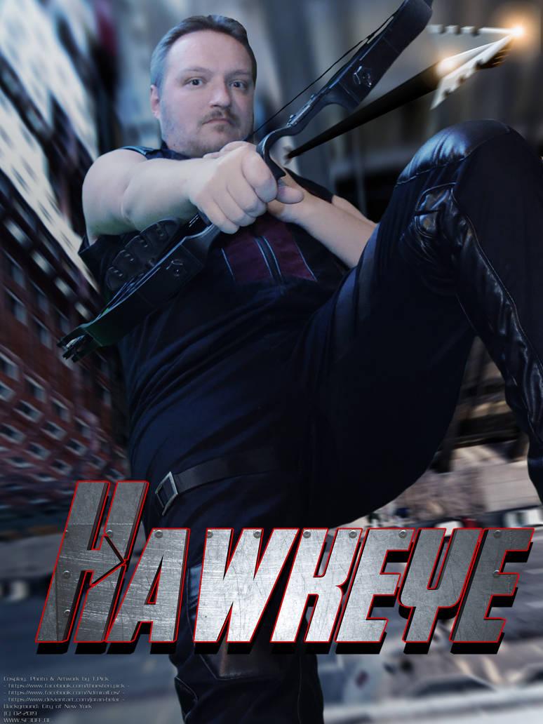 Hawkeye Cosplay - Poster