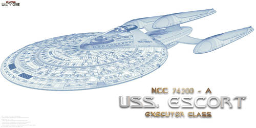 USS Escort Wireframe by Joran-Belar