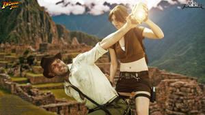 Indiana Jones vs. Lara Croft
