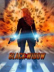 Black Widow Cosplay - Poster