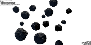Asteroids Pack 08 - Stock