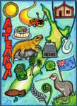 Aotearoa Map Card