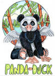 Panda-Duck by lemurkat