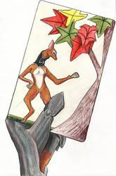 Hanafuda Card - Poem by lemurkat