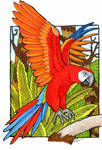 The Real Macaw by lemurkat