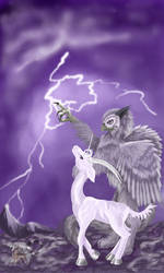 Lightning Flashes by lemurkat