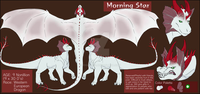 ($) Morning Star Reference Sheet