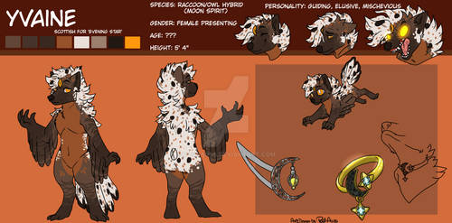 {Comm} Reference Sheet Yvaine