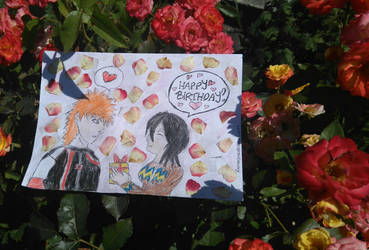 Ichiruki: Birthday card for my friend by RammsteinManson