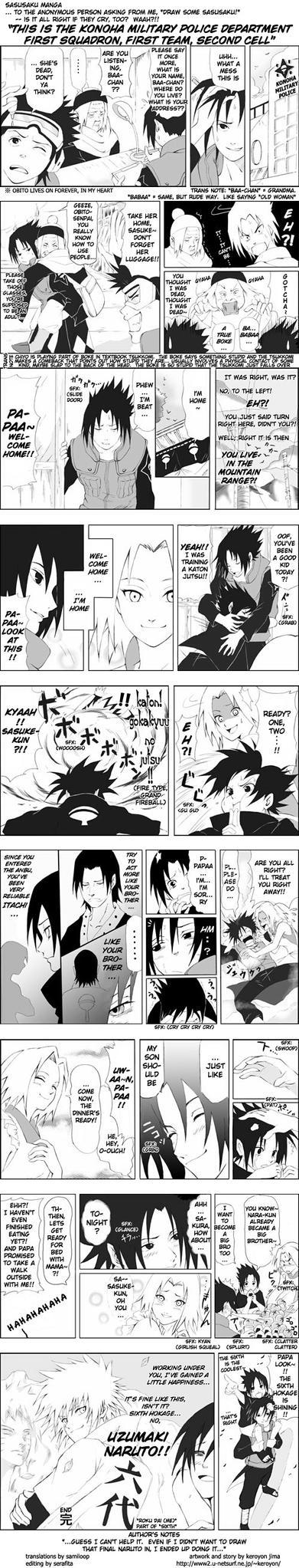 If Sasuke never left... by Muzakcube64