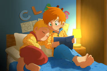 Bedtime story by 0Atreus