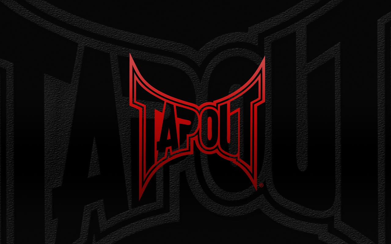 tapout logo red mma - photo #1
