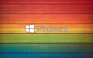 windows 8 wallpaper color by TravisLutz