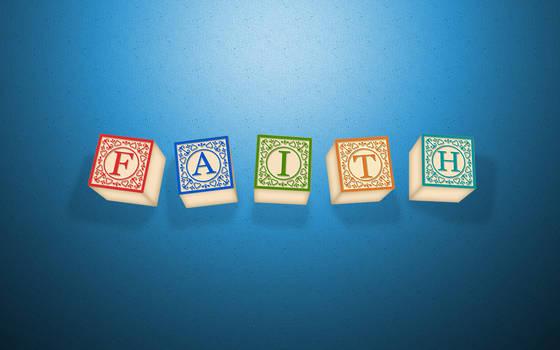 faith wallpaper blue