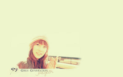 SNSD - Taeyeon wallpaper by helloworld409