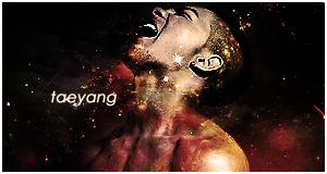 Big Bang - Taeyang banner by helloworld409
