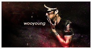 2PM Wooyoung banner by helloworld409