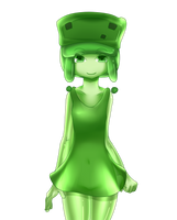 minecraft mob: small slime (normal) by patrickwright15