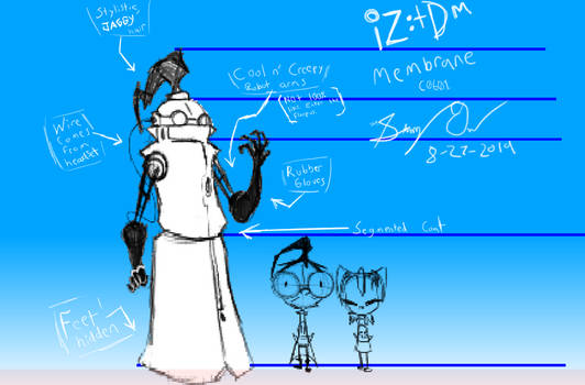 Quick Sketch - Professor Membrane