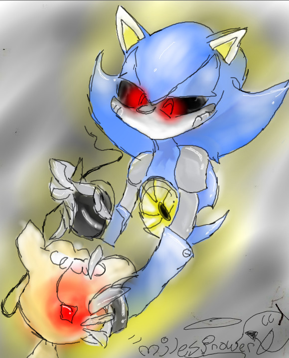 Metal Sonic Fixing Tails Doll By Milesprower0 On DeviantArt