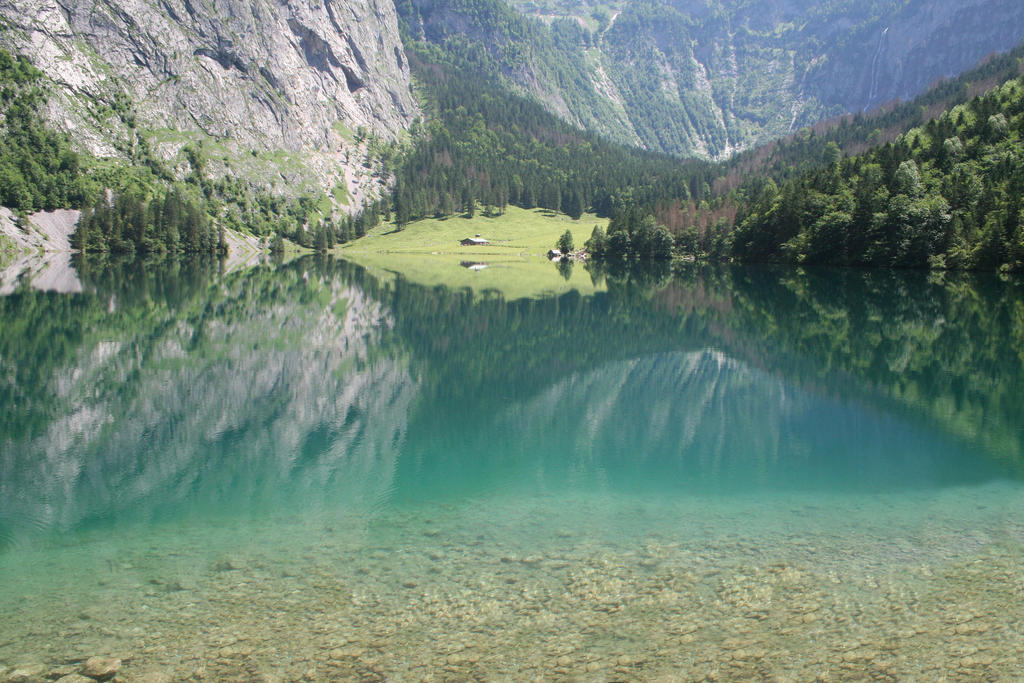 The Lake and The Mountain by Spartan111777
