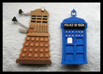 Pins - Doctor Who