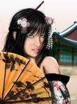 Waiting for love geisha