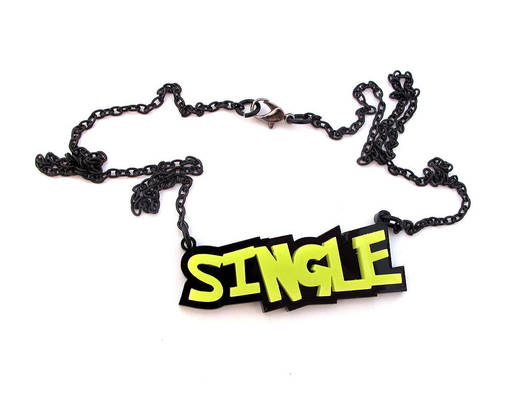 Single - Marital status necklace