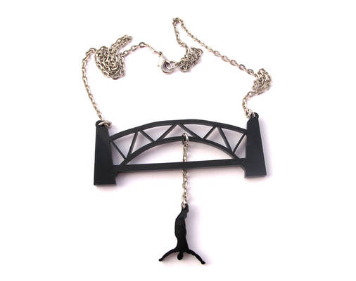 Bungee Jumping necklace