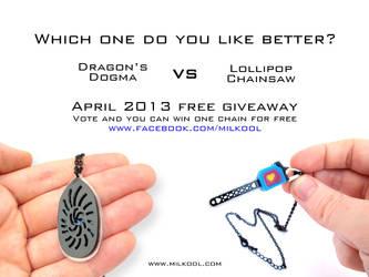 Lollipop Chainsaw vs Dragon's Dogma necklace