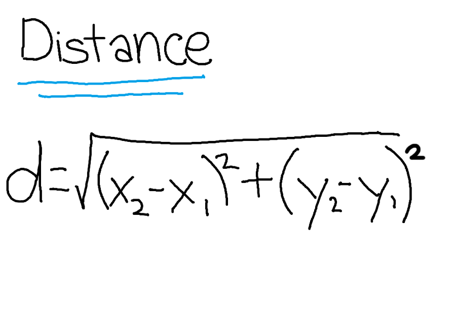 distance formula One formula to rule them all, one formula to find them one formula to bring them all, and in the darkness bind them or something like that in coordinate geometry , the way to find the distance between two points is to use the distance formula all you do is plug in the points, and you've got yourself the distance.