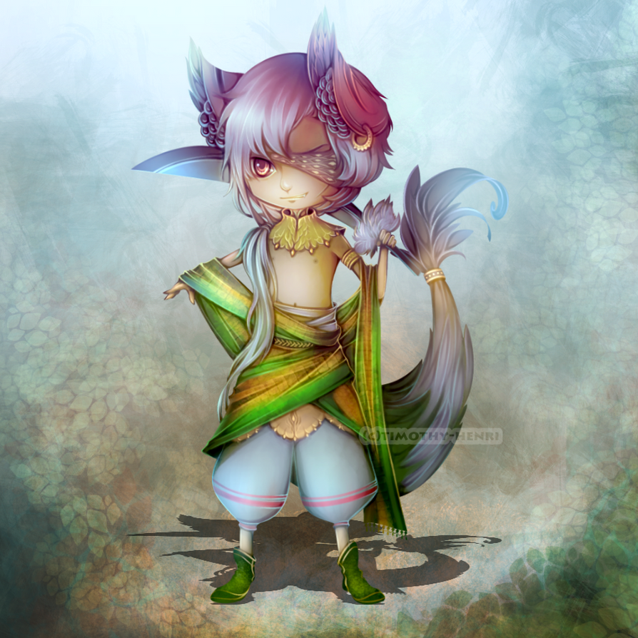 (CLOSED) - Little Villain Adoptable #035 by Timothy-Henri