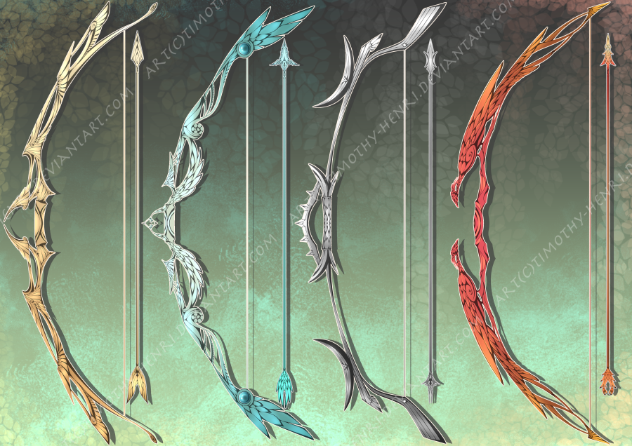 (CLOSED) - Fantasy Bows Adoptable #040 by Timothy-Henri on ...