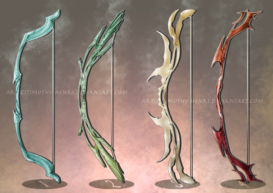 sale   fantasy bows adoptable 043 by timothy henri on