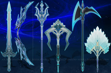 (CLOSED) -Weapon Set #018- Shivering Mist by Timothy-Henri