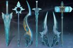 (CLOSED) - Weapon Set #019 - Crystal Burst