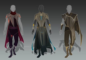 (CLOSED) - Male Outfit Adoptable Set #015 by Timothy-Henri