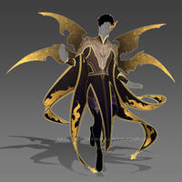 (CLOSED) - Male Outfit Adoptable #001 by Timothy-Henri