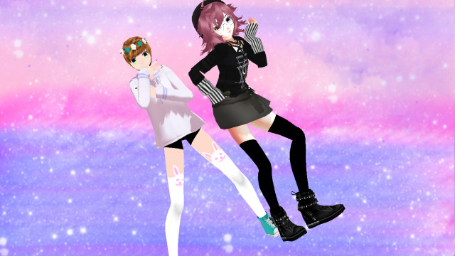 { different is good } by Alex-MMD-Studios