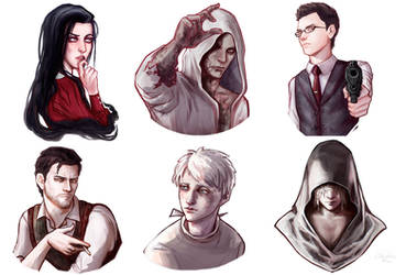 The Evil Within | Stickers