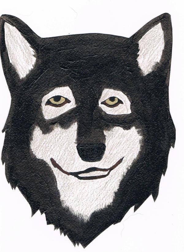 Wolf Portrait Thingy