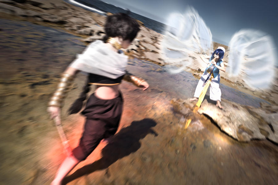 MAGI: Battle by cheroz