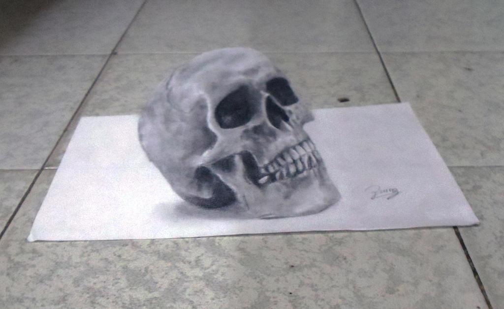 Skull by JG-Pain
