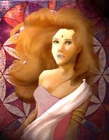 woman by melyuzu