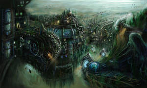 Underwater City by lostsoul121