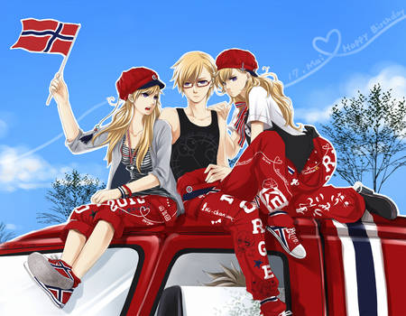 17 Mai russ-norge by akato3